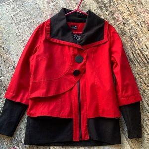 Schwiing Stylish cotton fall jacket.